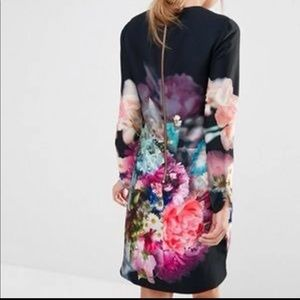 🌺Ted Baker Floral Dress Size small🌺
